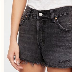 NWT Free People 501 Cut Off Shorts 30